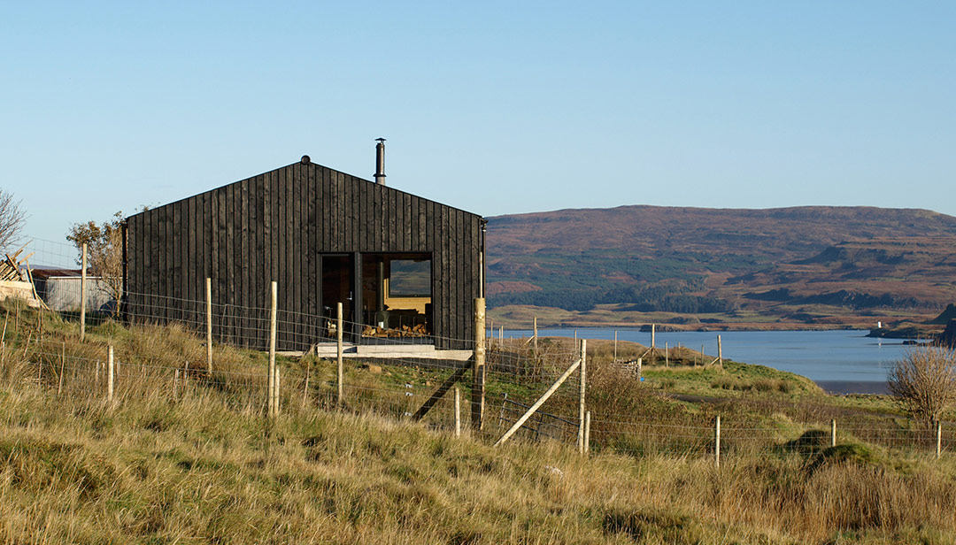 Black Shed, Isle of Skye - Loch Dunvegan, Scotland
