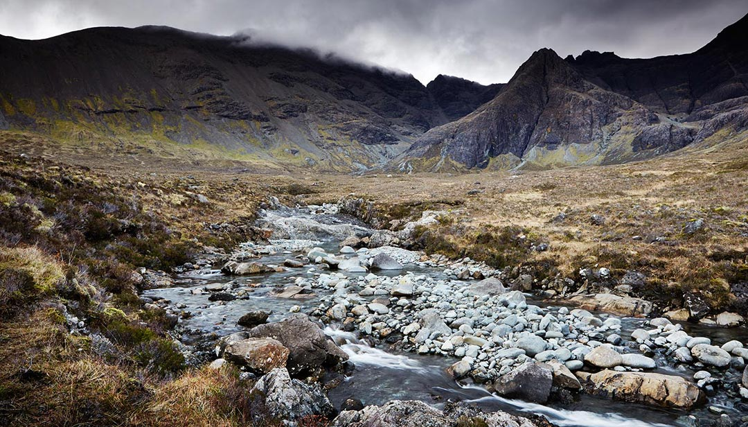 black-shed-skye-fairy-pools-james-ross